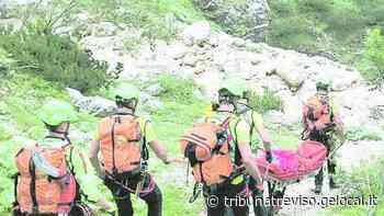 Precipita per 50 metri, grave escursionista di Conegliano - La Tribuna di Treviso