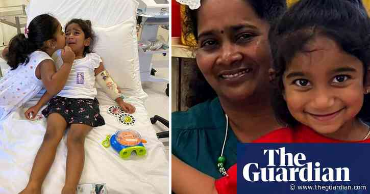 Biloela daughter Tharnicaa released from hospital in Perth - The Guardian