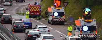 Cade una pianta sulla superstrada Milano - Meda a Lentate sul Seveso, nessun ferito - Il Cittadino di Monza e Brianza