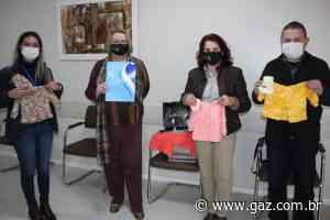 Hospital Santa Cruz recebe doação de roupas de bebê - GAZ
