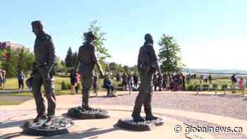 Run carries on legacy of fallen Moncton Mounties | Watch News Videos Online - Globalnews.ca