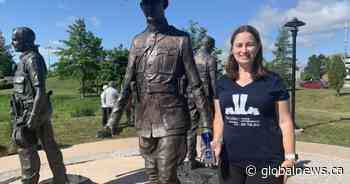 'Three Fathers Memorial Run': Cross-country support honouring fallen Moncton RCMP officers - Global News
