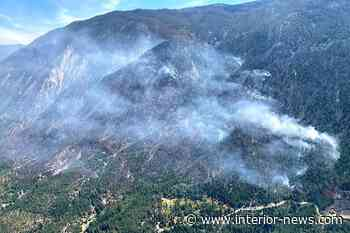 BC drone sighting halts helicopters fighting 250 hectares of wildfire – Smithers Interior News - Smithers Interior News