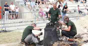 Cavaillon : premiers tintements pour les deux cloches démoulées - La Provence