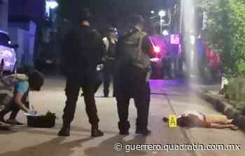 Asesinan a balazos a hombre en colonia de Acapulco - Quadratin Guerrero