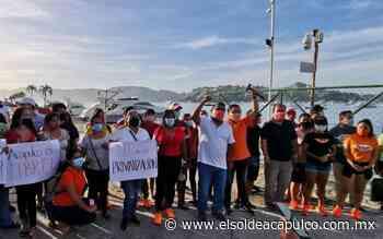 Invade Ramiro Solorio área restringida de la Administradora Portuaria de Acapulco - El Sol de Acapulco