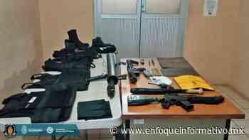 Detiene la Policía Estatal y Sedena a dos personas en Acapulco - Enfoque Informativo