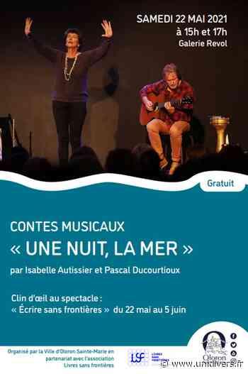 Contes musicaux : Une nuit, la mer 2021-05-22 Oloron-Sainte-Marie Rue de Révol Galerie Révol Pyrénées-Atlantiques - Unidivers