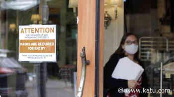 Oregon reports 200 new coronavirus cases as vaccination rate slows - KATU
