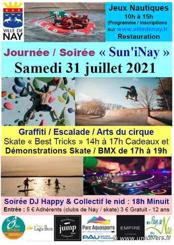 Sun'iNay Nay samedi 31 juillet 2021 - Unidivers