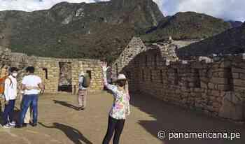 Itatí Cantoral: actriz mexicana junto a sus hijos recorrió la ciudadela inca de Machu Picchu - Panamericana Televisión