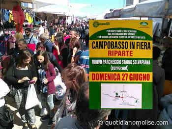 """Riparte """"Campobasso in fiera"""", l'evento si terrà nel nuovo parcheggio dello stadio Selvapiana - quotidianomolise.com - Il Quotidiano del Molse"""