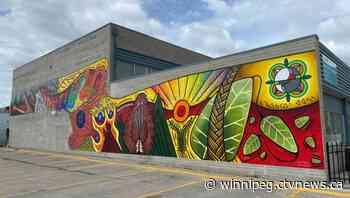 New Selkirk mural honours residential school survivors - CTV News Winnipeg