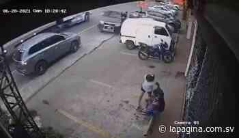 VIDEO   Conductor en presunto estado de ebriedad provoca accidente en San Miguel y se da a la fuga - Diario La Página