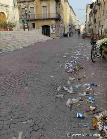 """Decoro urbano e civiltà, Nardella: """"A Sulmona i bambini 'battono' gli adulti"""" - L'Aquila Blog"""