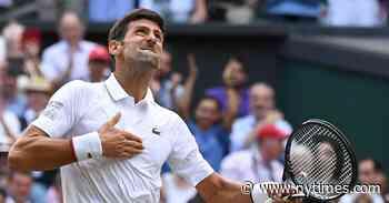 It's Novak Djokovic's Wimbledon. Don't Roll Your Eyes.