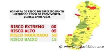 Covid: Cachoeiro de Itapemirim entra no risco moderado na próxima semana - Aqui Notícias - www.aquinoticias.com