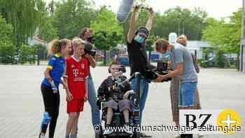 Filmdreh in Braunschweig: Jugendliche reden über Handicaps