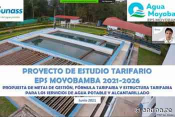 EPS Moyobamba invertirá S/ 21.6 millones para optimizar servicio de agua potable - Agencia Andina