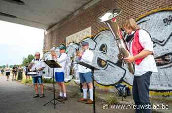 250 Kuringenaren genieten van afscheidsconcert voor kanaalb... (Hasselt) - Het Nieuwsblad