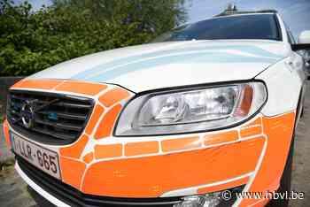 Gewonde bij ongeval tussen auto en bromfiets in Hasselt - Het Belang van Limburg