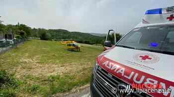 Cade in moto in Valtrebbia, 46enne in eliambulanza a Parma - IlPiacenza