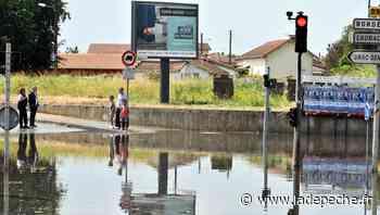 Orages à Tarbes : le pont souterrain d'Urac inondé - LaDepeche.fr