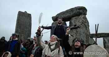 Summer solstice revellers swarm Stonehenge despite Covid cancelling annual event