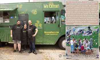 Israeli food truck BANNED from Philadelphia food festival, causing fierce backlash, cancellation - Daily Mail
