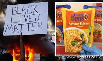 Black Lives Matter targeting 'racist food brands' as Uncle Ben's forced to change name - Express