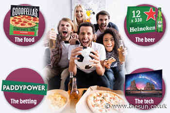 Win big during the Euros with these great deals on food, drink and TVs... - The Sun