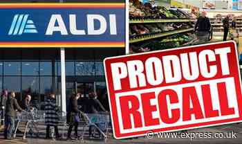 Aldi, Lidl, Tesco and more recall food products due to health fears - Full list - Express