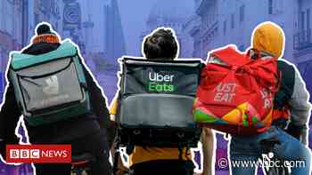 Food-delivery apps up to 44% more expensive, survey finds - BBC News