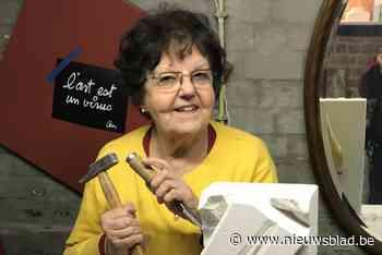 Lieve Geeroms stelt haar 'Beeldentuin' open