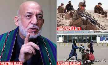 Afghanistan ex-president Hamid Karzai angrily blasts'failed' Western invasion