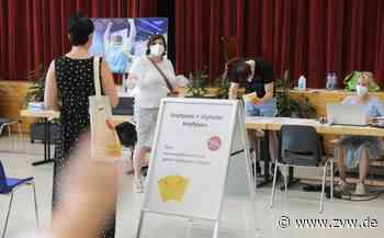 Impf-Marathon in Waiblingen-Neustadt: Fast 600 Menschen mit Johnson & Johnson geimpft - Waiblingen - Zeitungsverlag Waiblingen