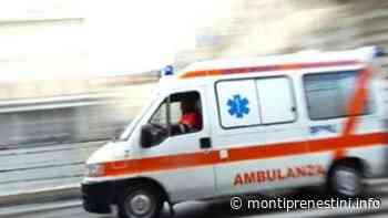 Conducente muore alla guida, dramma a Valmontone - Monti Prenestini