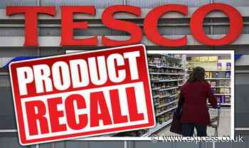 Tesco issues urgent food recall warning on baby food, ice cream and more - full list - Express