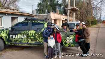 Feliz rescate de un pichón de flamenco en Santa Rosa - Mendovoz