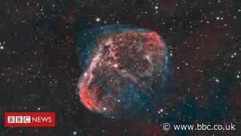 Stargazers get Nasa recognition for Crescent Nebula photo
