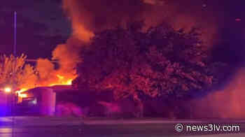 3 injured, 10 animals dead after North Las Vegas fireworks fire - News3LV