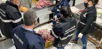 Duas toneladas de alimentos impróprios para consumo são apreendidos em Sapiranga - Jornal NH