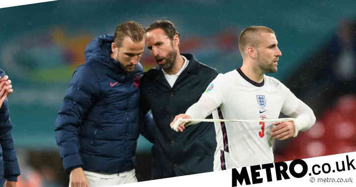 England and Manchester United defender Luke Shaw backs 'best striker in the world' Harry Kane to come good at Euro 2020