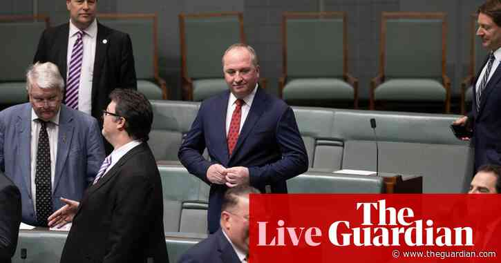 Australia politics live news: Barnaby Joyce returns as Nationals leader; Sydney mask rules likely to continue after two new Covid cases in NSW