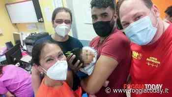 Bimbo di 15 giorni va in arresto respiratorio, 20 minuti di manovre gli salvano la vita: Stefania, Stefano, Marco e Vincenzo gli angeli del 118 - FoggiaToday