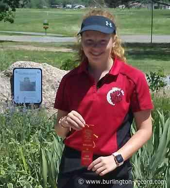 Burlington's Hays set to compete at state golf - Burlington Record