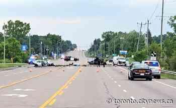6 people seriously injured in multi-vehicle crash north of Burlington - CityNews Toronto
