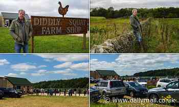 Jeremy Clarkson fans queue for hours to see ex-Top Gear host at his Diddly Squat farm in Cotswolds