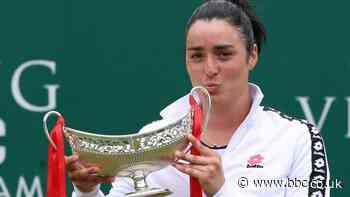 Birmingham Classic: Ons Jabeur beats Daria Kasatkina to win first title