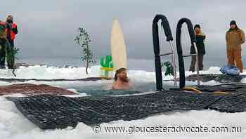 Icy solstice swim for Aust expeditioners - Gloucester Advocate